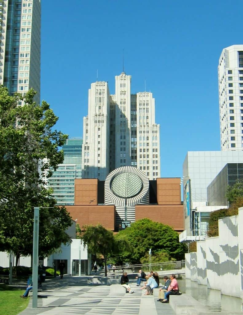Fun San Francisco Attractions: The Yerba Buena gardens (not the museum of modern art!)