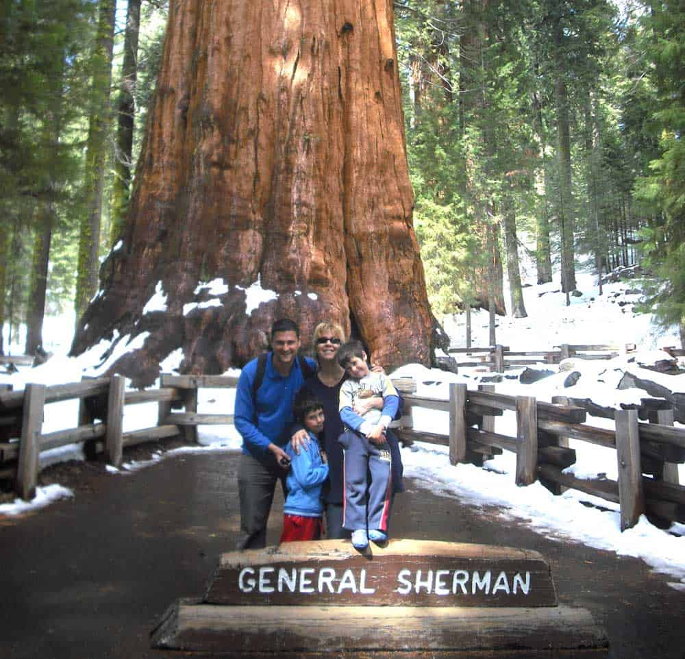 Sequoia & Kings National Park, April 2009