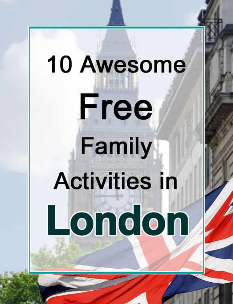 Free family activities in London