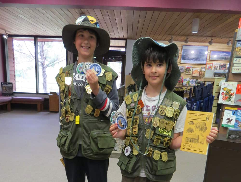 Visiting national parks: Get kids into the junior ranger programs