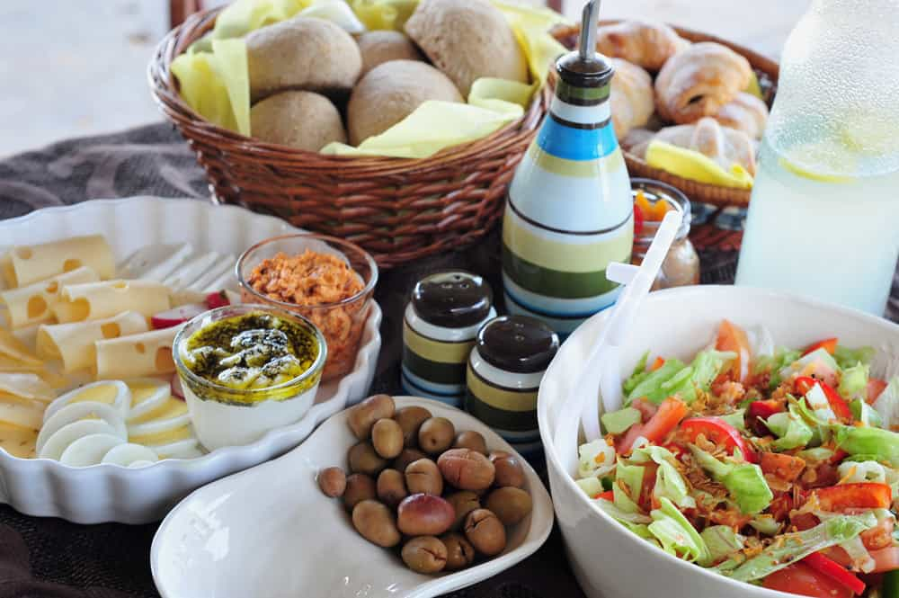 5 Traditional Israeli Dishes You Must Try When Visiting: An Israeli breakfast
