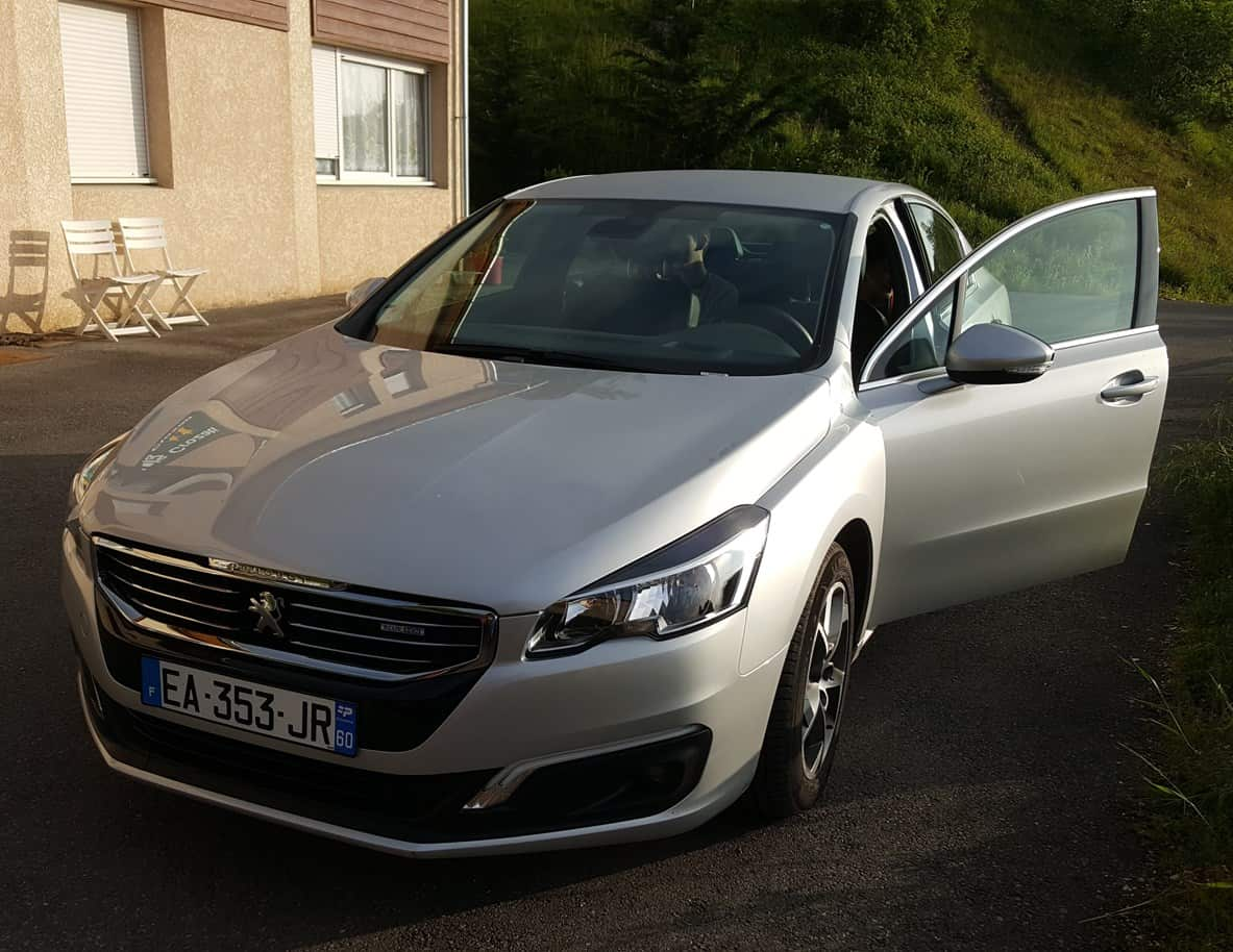 French Alps Trip Report: Sixt Rental Peugeot 508