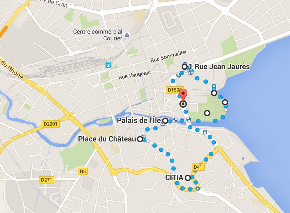 What to do and see in Annecy, France: The Map