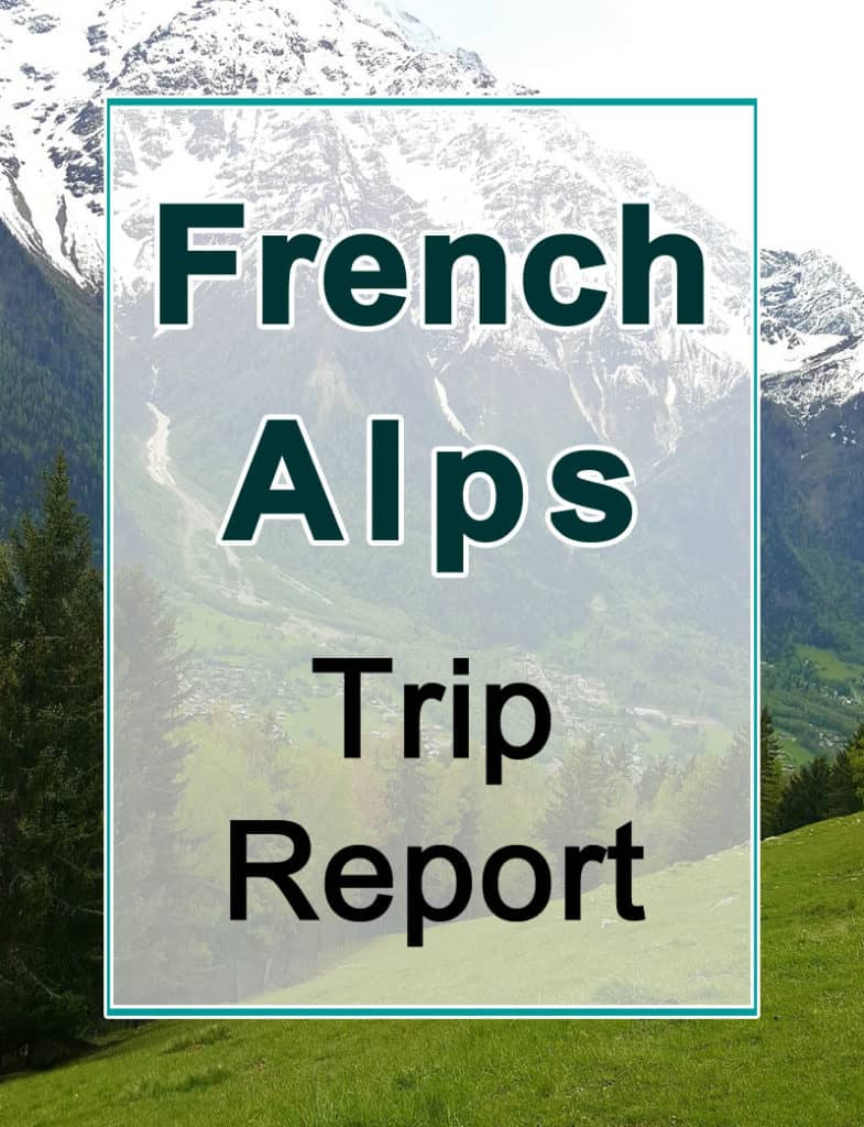 French Alps trip report
