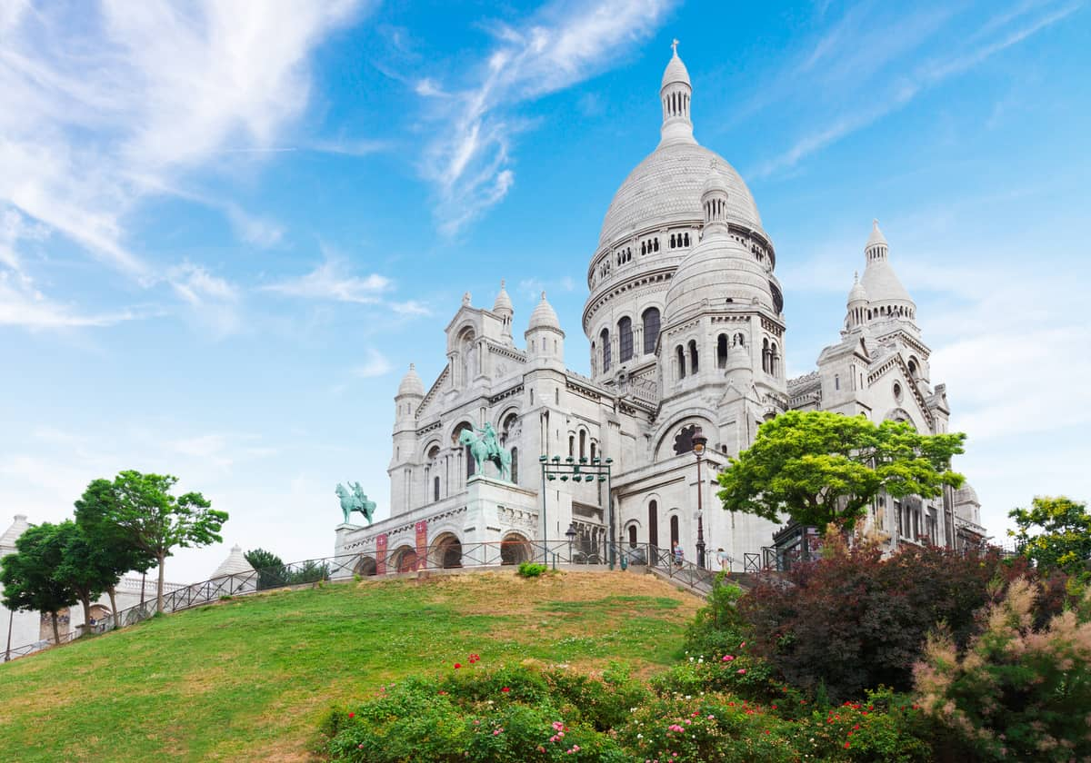 Sacre Coeur church, Paris,