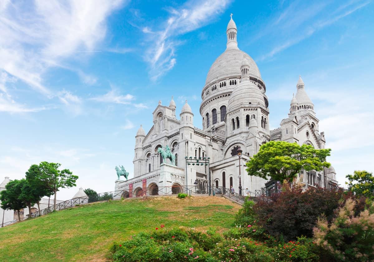Sacre Coeur church, Paris,
