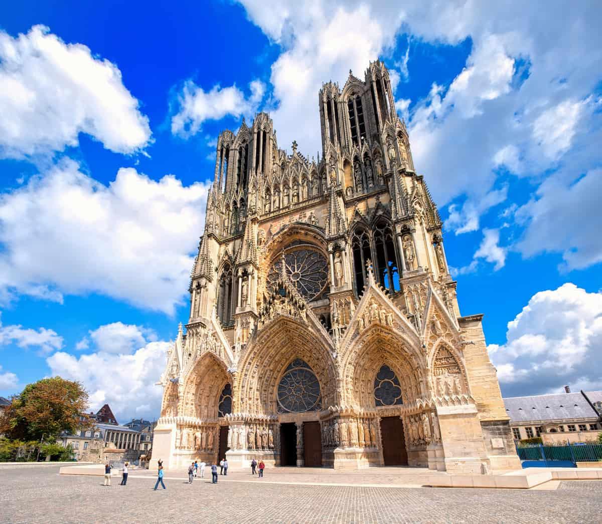 Notre Dame de Reims Cathedral,