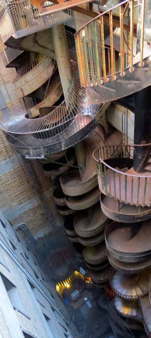 10-storey slide - at the City Museum, St. Louis, MO