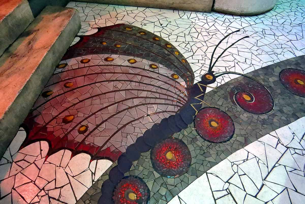 Mosaics, at The City Museum, St. Louis