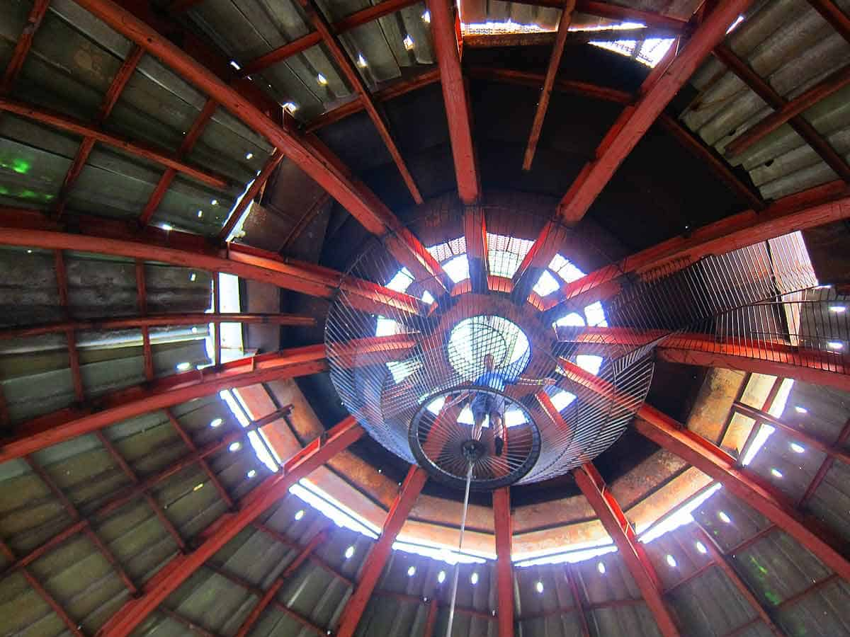 Up the dome of the City Museum St. Louis