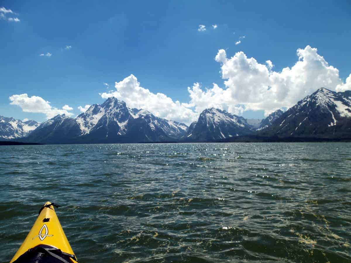 Grand Tetons National Park kayaking
