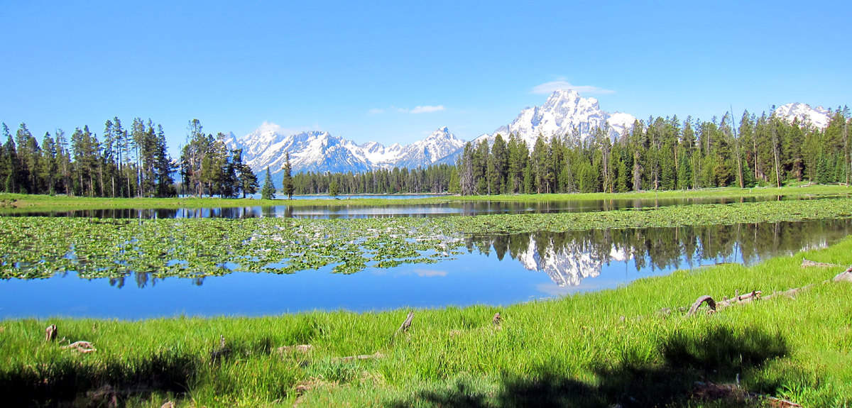 Grand Tetons in the summer of 2011