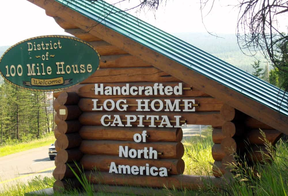 From Seattle to Alaska via the Stewart-Cassiar Highway: 100 Mile House