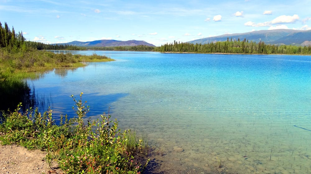 What to see and do along the Stewart-Cassiar route to Alaska: Boya Lake Provincial Park