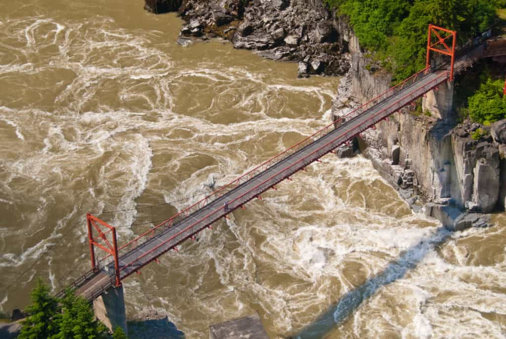 From Seattle to Alaska via the Stewart-Cassiar Highway: Hell's Gate, British Columbia