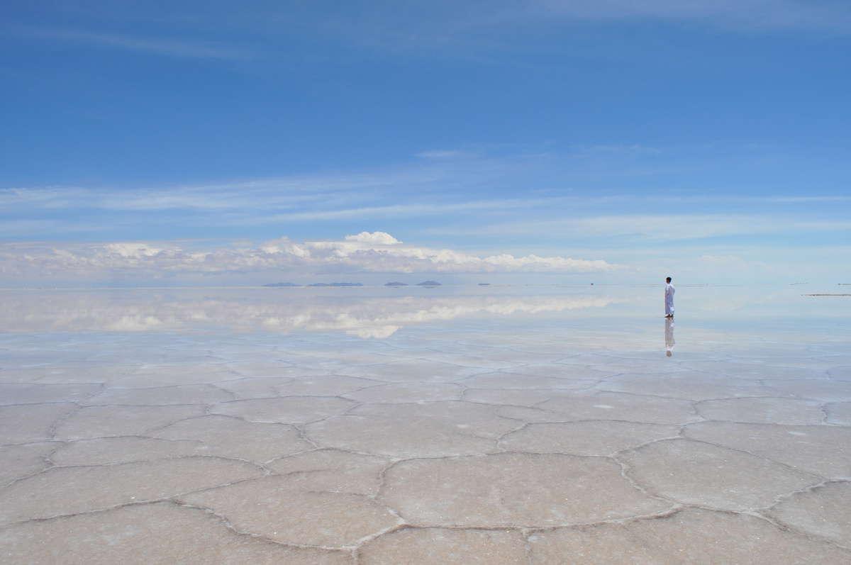 Salar de Uyuni in Bolivia - Where to travel to in South America