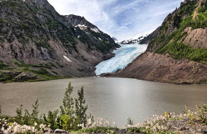 Bear Glacier at BC Canada