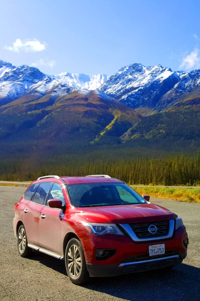 Kluane National Park - a stop along the Alaska Highway
