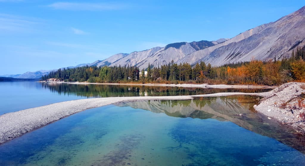 Muncho Lake - a stop along the Alaska Highway
