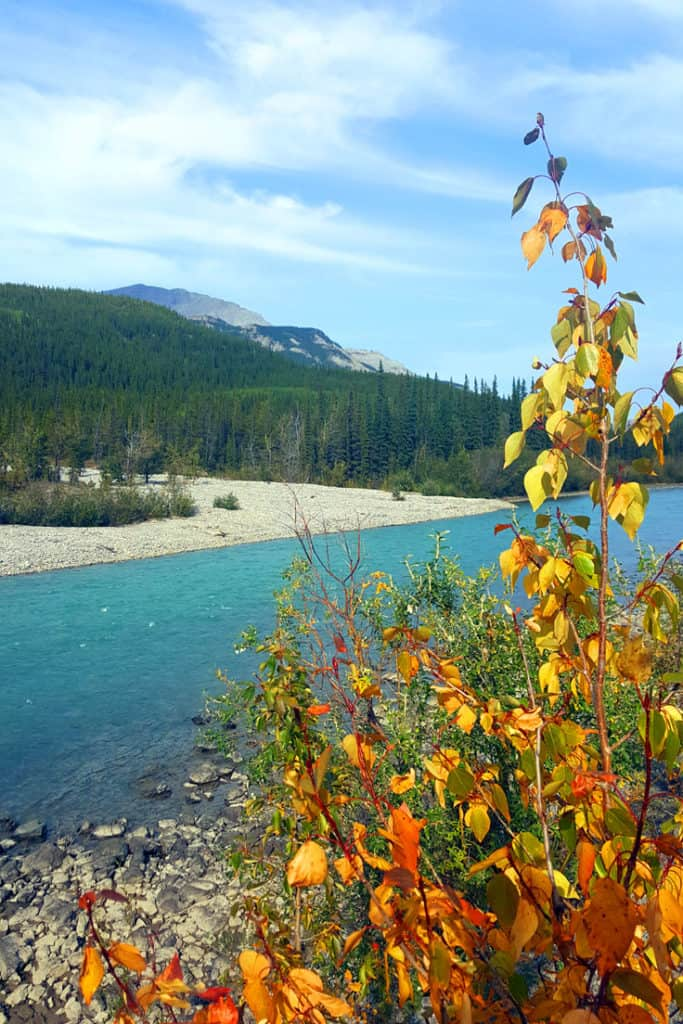 Muncho Lake National Park - a stop along the Alaska Highway