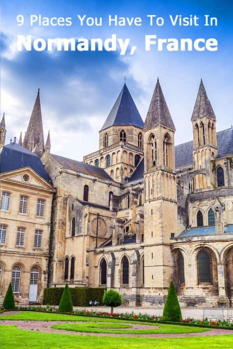 Abbaye Aux Hommes, Normandy