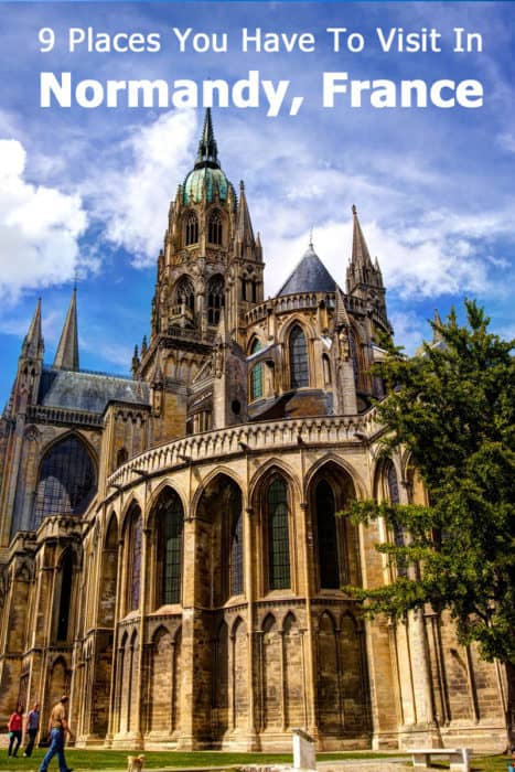 The Bayeux Cathedral, Normandy