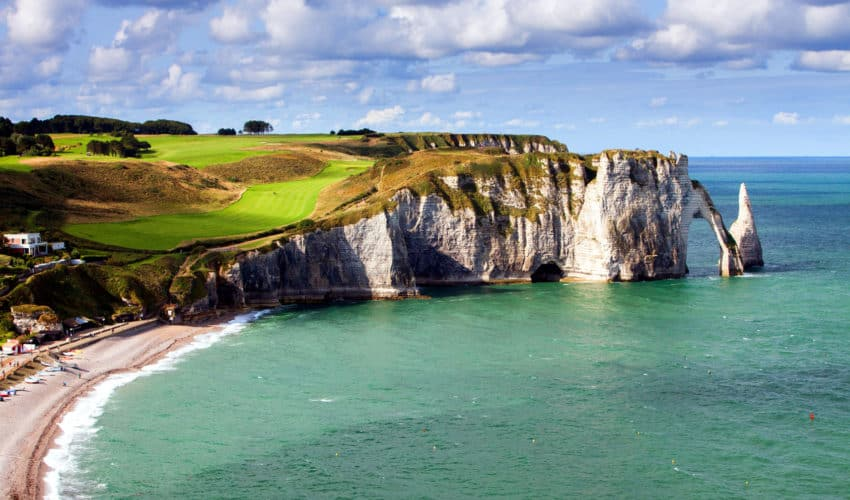 Traveling to Normandy: Cliffs of Etretat