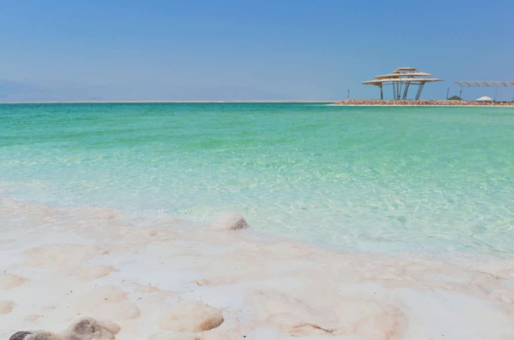 The Dead Sea can look very peaceful