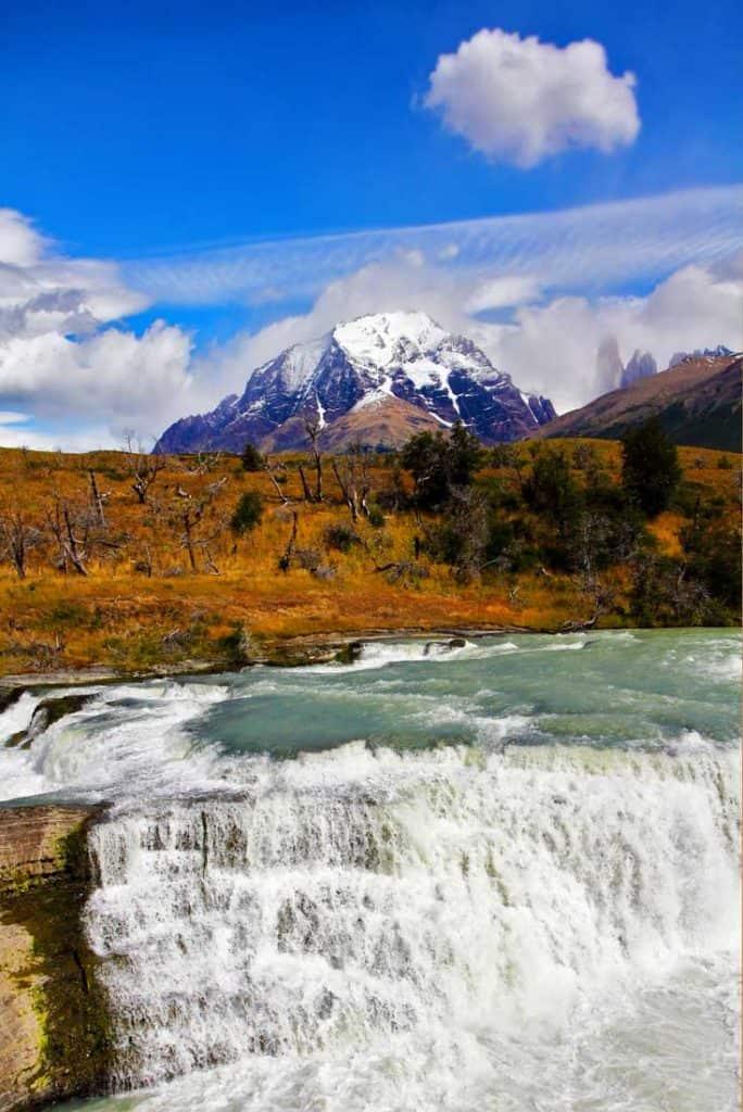 19 Stunning Photos Of Patagonia: Cascada del Rio Paine