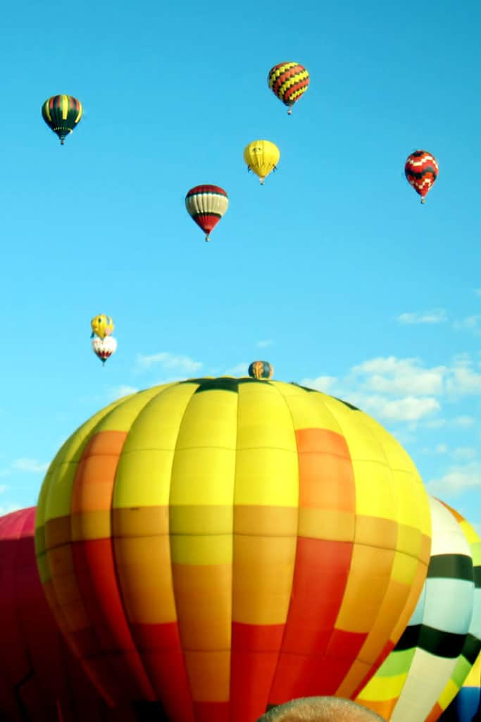 The Albuquerque Balloon Fiesta: Click for this Quick Practical Guide including the where, when, how much and useful tips for making the most of your visit to the The Albuquerque Balloon Fiesta