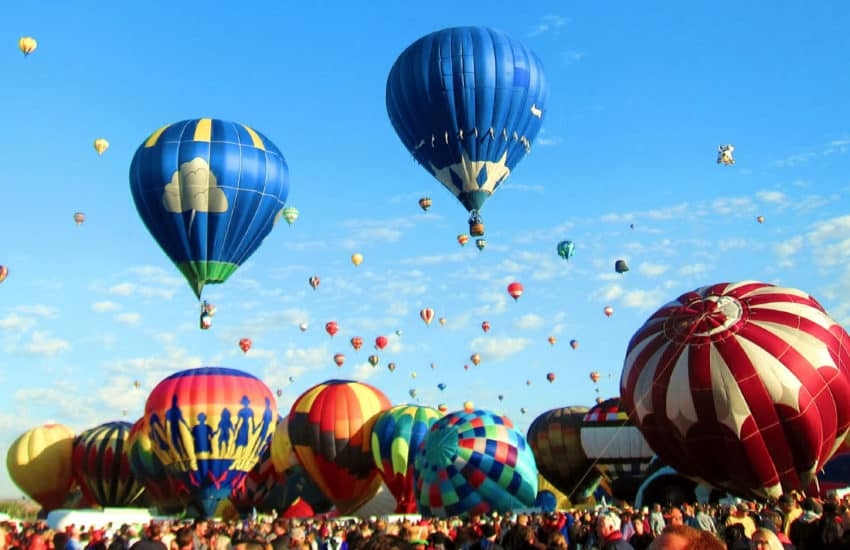 The Albuquerque Balloon Fiesta