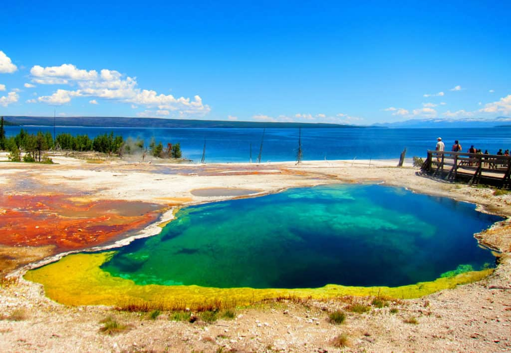 Yellowstone West Thumb Basin: The Abyss Pool