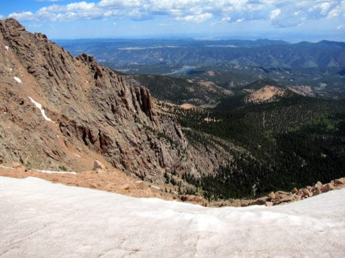 Visiting pikes peak