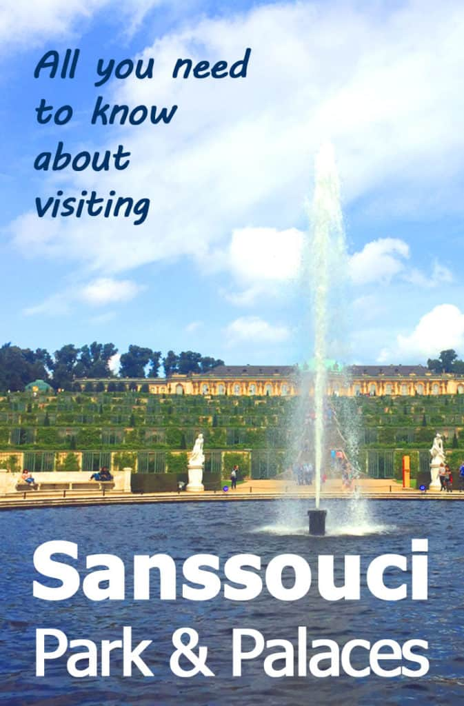Visiting Sanssouci Park: Click for everything you need to know about visiting this Prussian park, including the Sanssouci Palace, the New Palace, the Historic Windmill and more! I ever covered the best places to eat in Sanssouci park.
