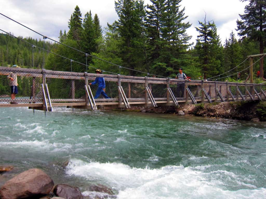 Best Family Hikes in the Canadian Rockies: Maligne Canyon