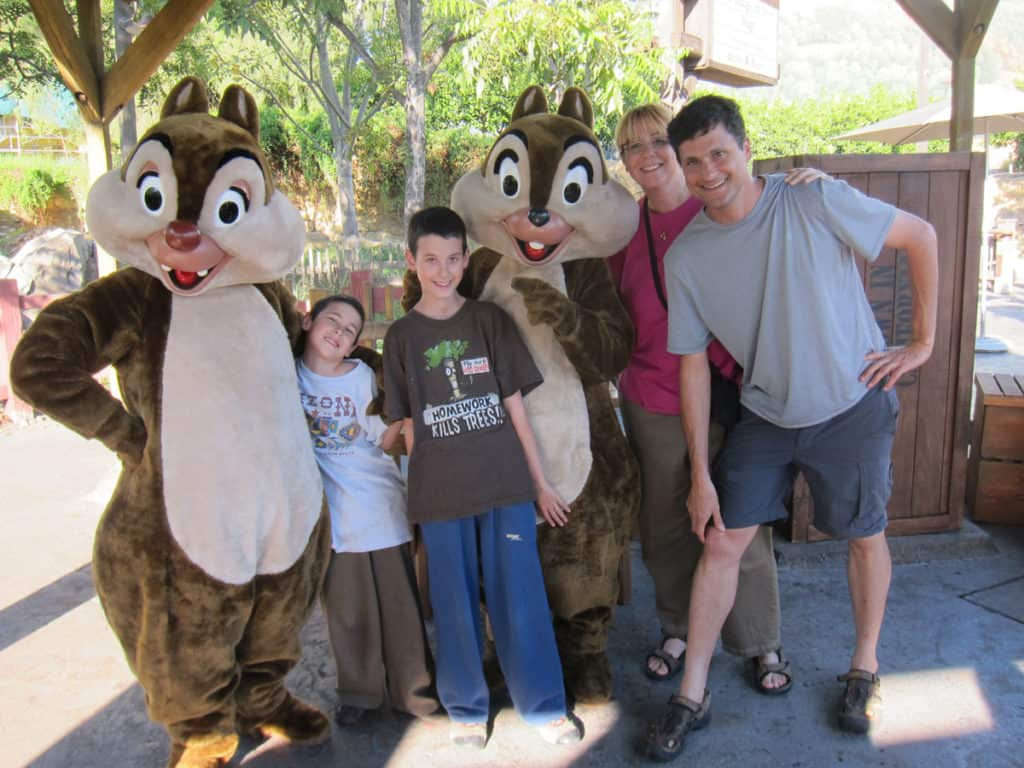 Traveling with kids: Visiting Disney
