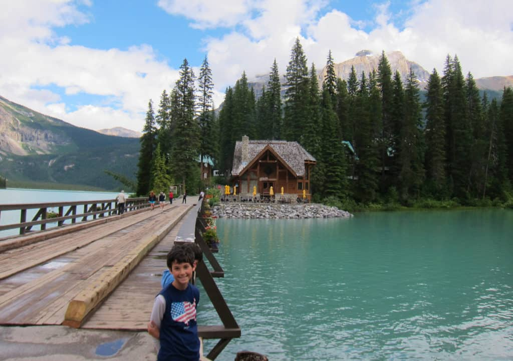 Best Family Hikes in the Canadian Rockies: Emerald Lake