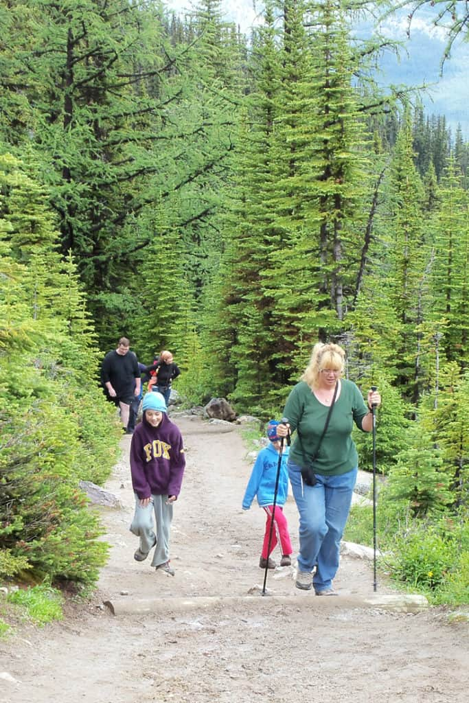 42 Best Family Hikes in the Canadian Rockies: Lake Louise