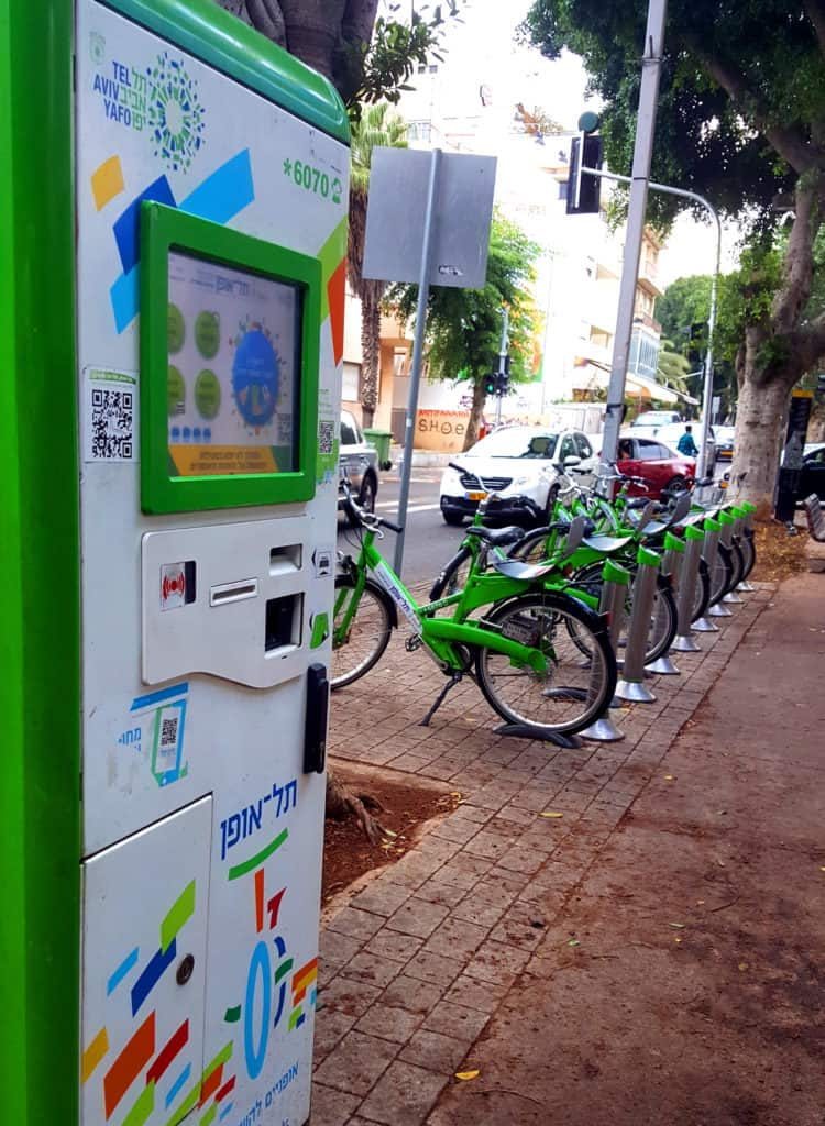 You can easily rent a bike and cycle. The White City of Tel Aviv: A Visitor's Guide