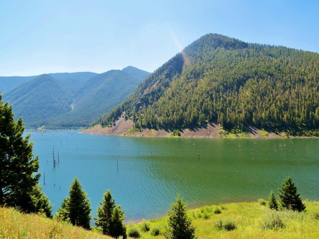 Quake Lake, MT.