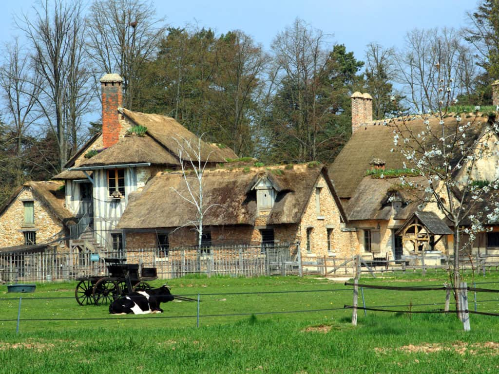 Visiting Versailles: Our cheat sheet. This is what the Queen's Hamlet looks like