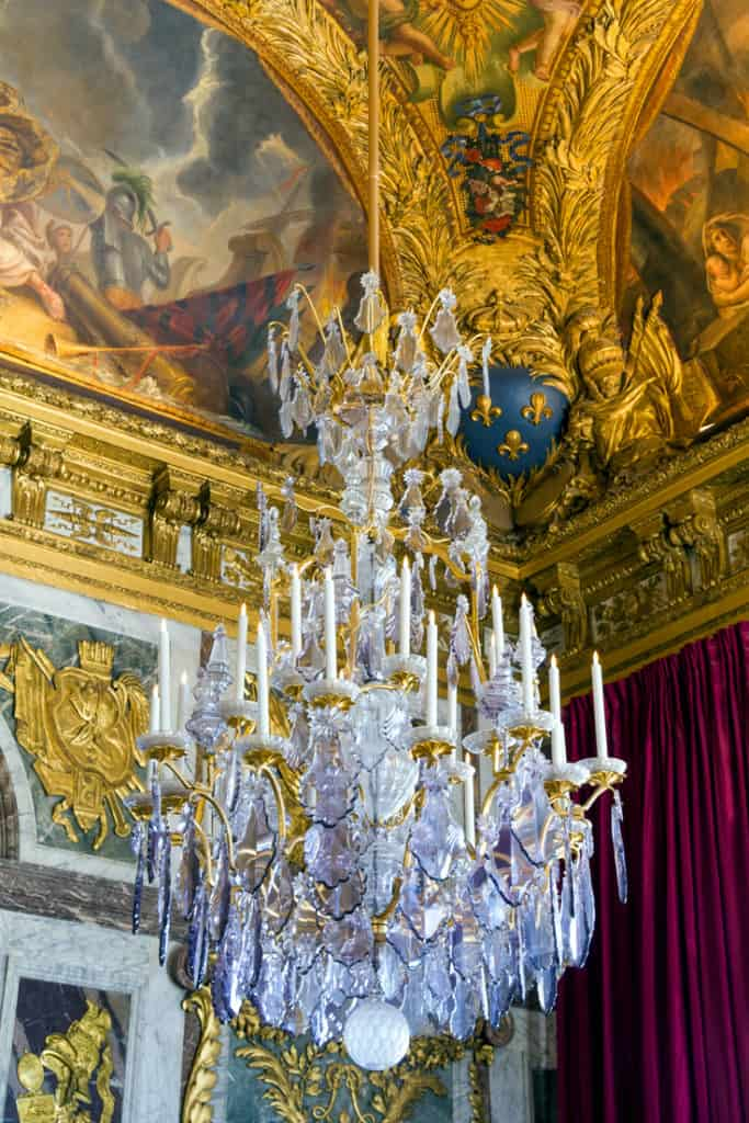 Inside the palace of Versailles - more on our guide on visiting Versailles