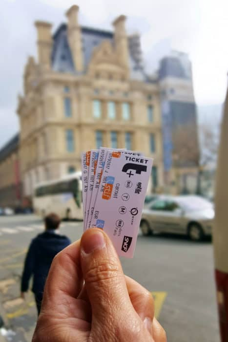 Paris Metro Tickets