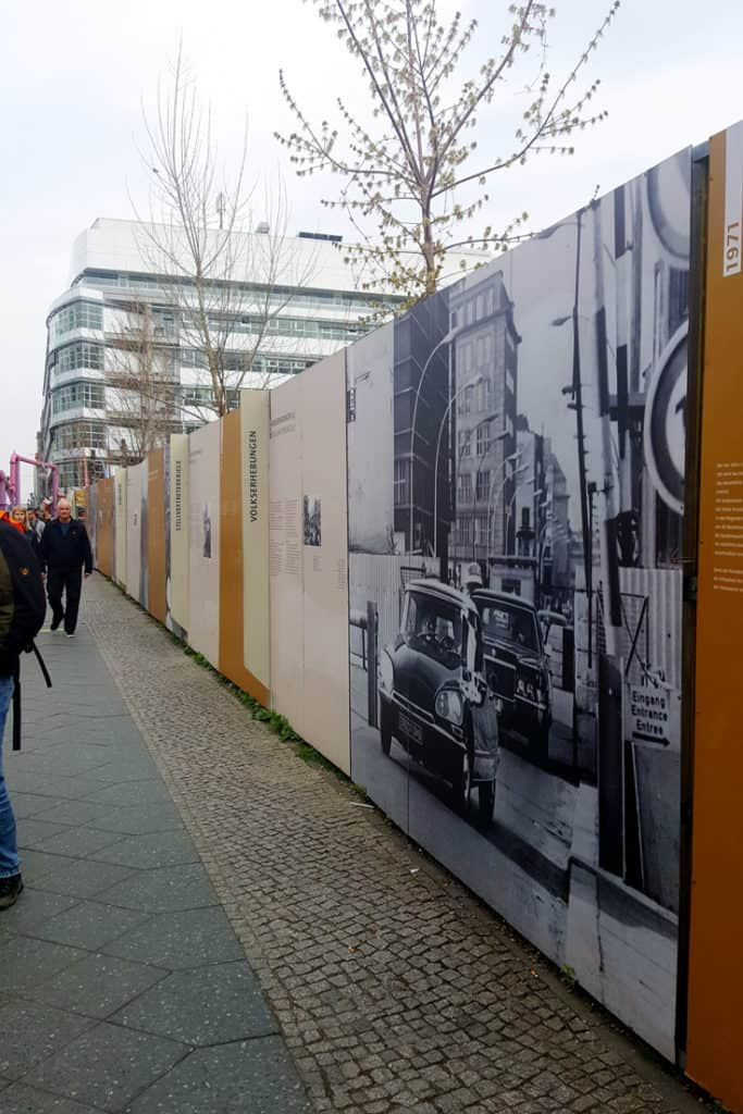 Berlin Wall Display - Berlin Trip Report