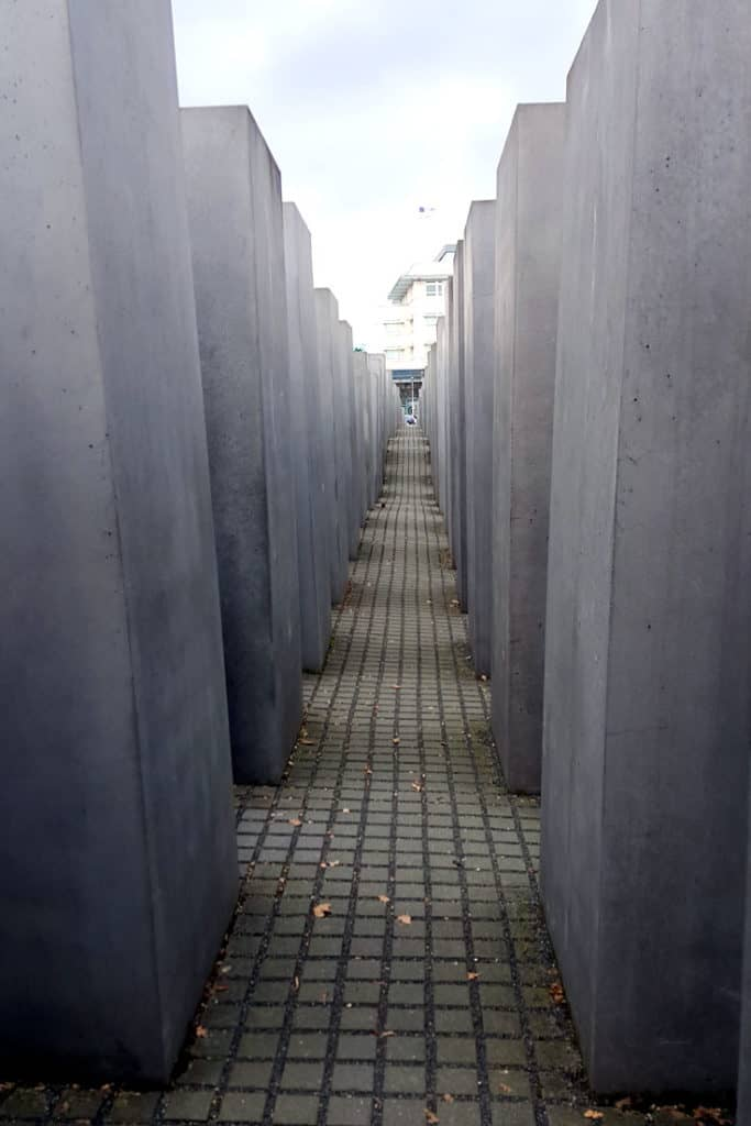 Berlin Trip report: The holocaust memorial