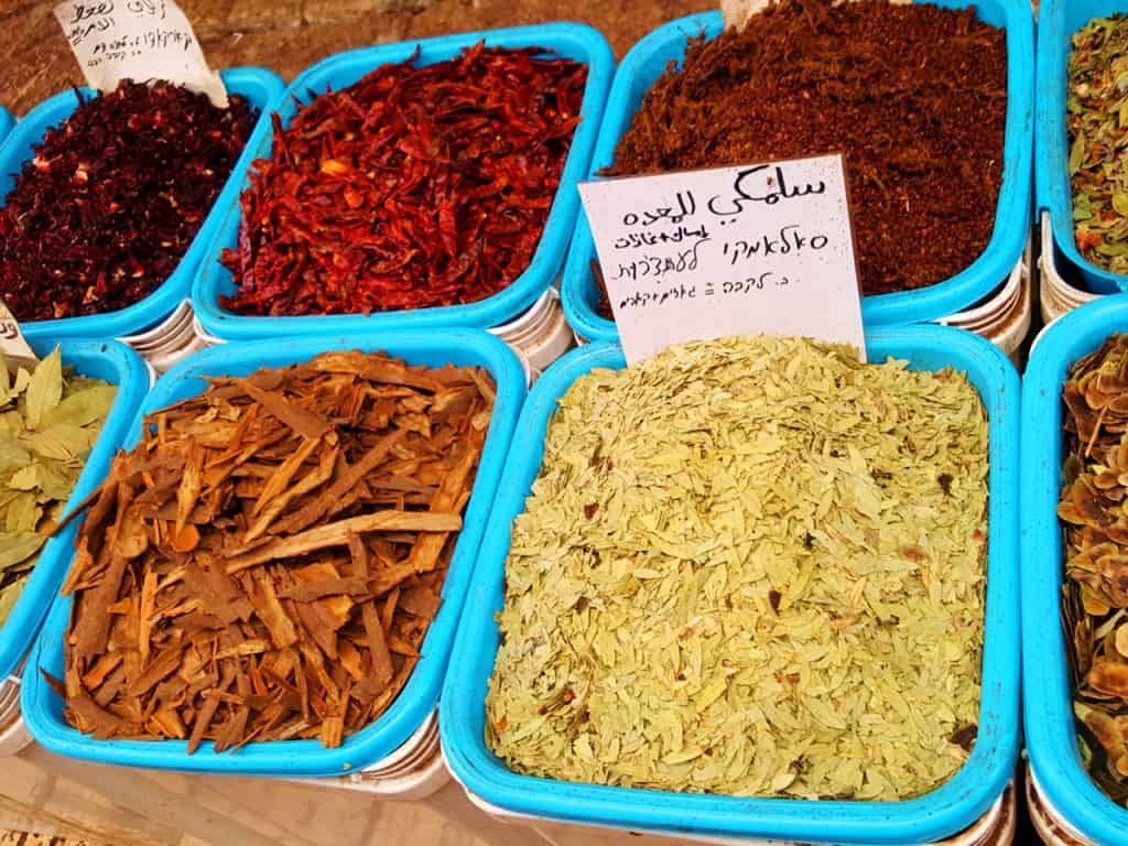 9 Awesome Things to Do in Akko, Israel: Spices in the Market Place