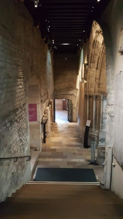 Visiting the Cluny Museum in Paris