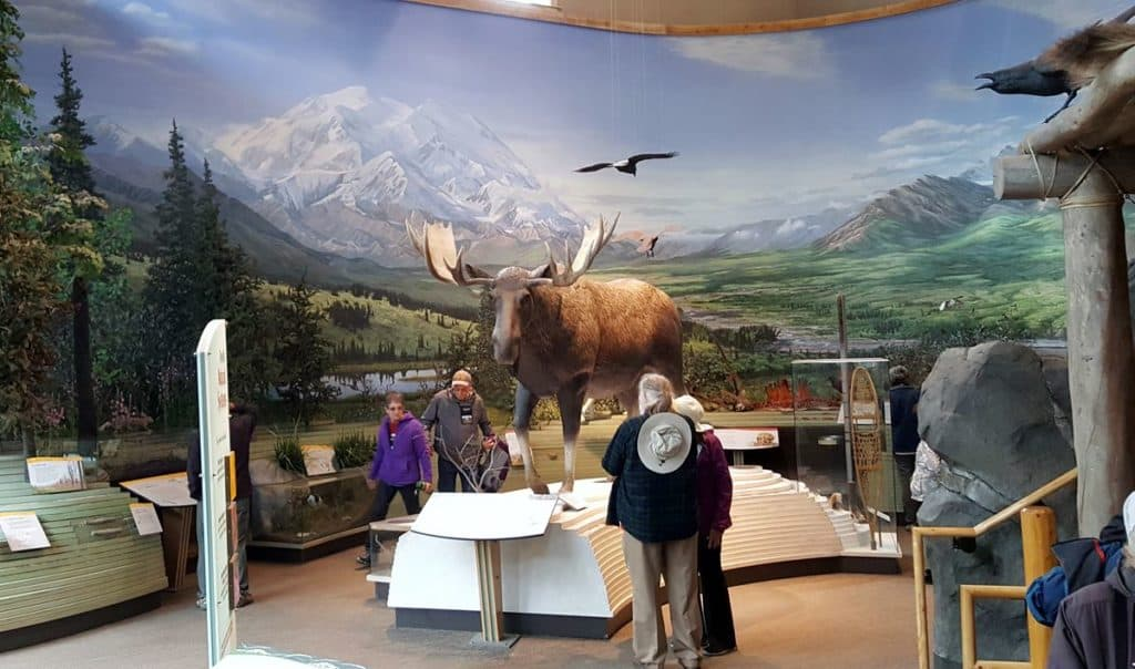 Denali National Park visitor center