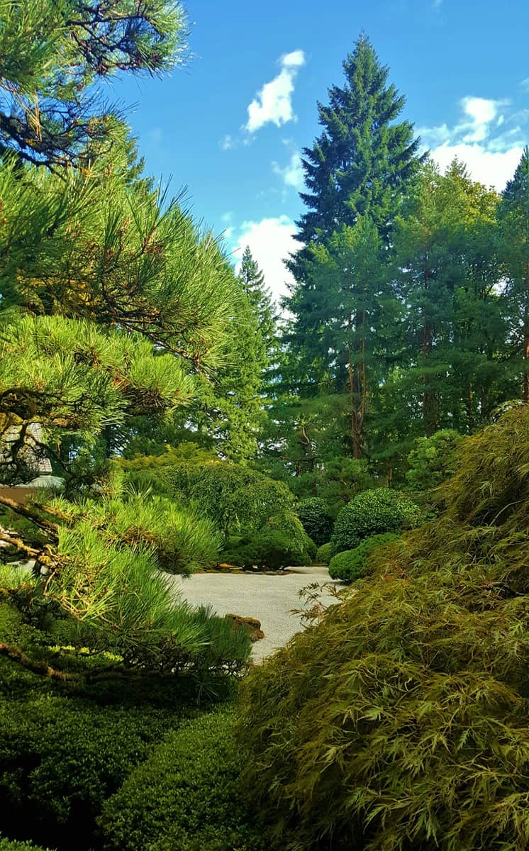 Portland Japanese Garden - one of 21 shots shared in this blog post