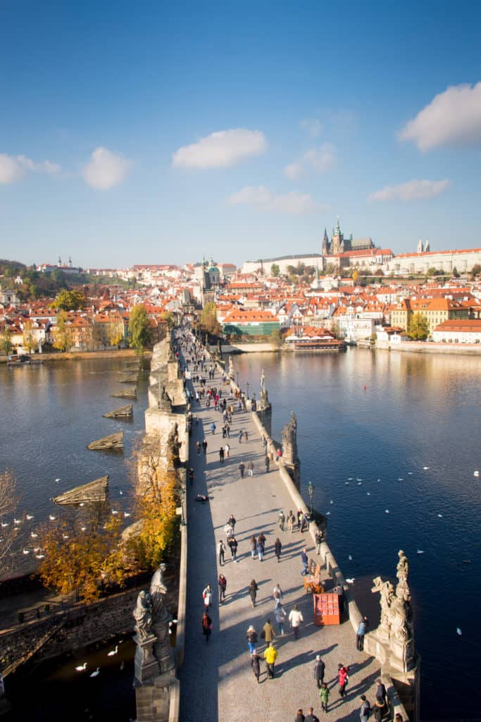 10 Awesome things to do in Prague: Charles Bridge